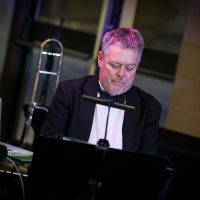 Jeff Daniels, piano.  Photo Credit: Cameron Shaver