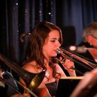 Kathryn Scobie, trombone.  Photo credit: Cameron Shaver